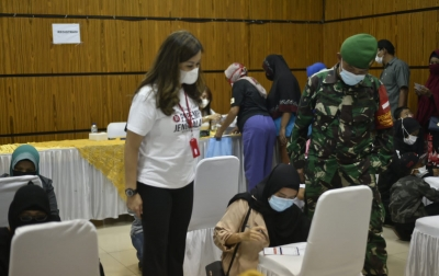 Perempuan Jenggala Kembali Gelar Vaksinasi Covid-19, Kali Ini di Deliserdang