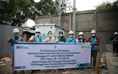 PLN UIW Sumut Sapa Pelanggan Sektor Kesehatan di Medan