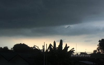 Hujan Intensitas Ringan Landa Kota Medan