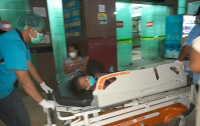 KNPI Sumut Dampingi Putri Lase Dirawat di RS Pirngadi Medan