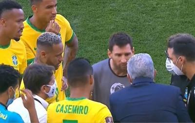 Messi Kesal dengan Pihak Berwenang Brasil