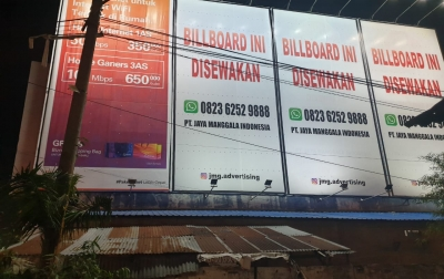 JMG Advertising Protes Pembangunan Fondasi Diduga Billboard Ilegal