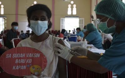 Jokowi Targetkan Angka Vaksinasi Covid-19 Capai 70 Persen pada Akhir Tahun