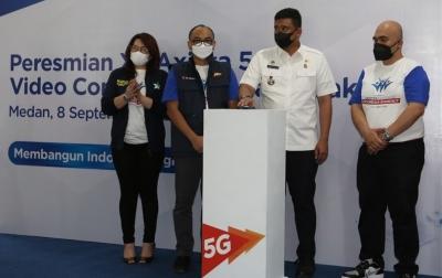 Sentra Vaksinasi Indonesia Bangkit Digelar di Medan, Sekaligus Pengenalan Jaringan 5G