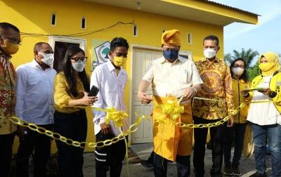 Golkar Sumut Bedah 24 Rumah Warga, Airlangga Hartarto Beri Apresiasi