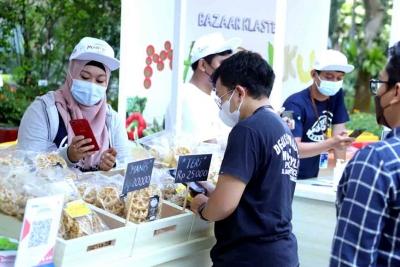 Dorong Penjualan Produk Klaster Usaha Binaan, BRI Dukung Pemberdayaan UMKM
