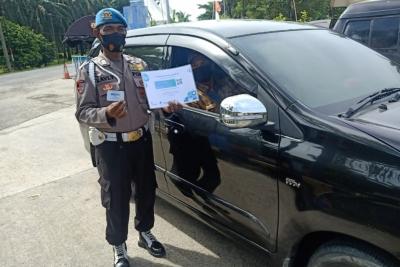 Tanpa Surat Vaksin, Satgas PPKM Putar Balik 53 Kendaraan di Perbatasan Aceh-Sumut
