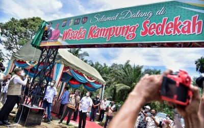 Kampung Sedekah KSJ di Batubara Diharapkan Berkontribusi Menyejahterakan Masyarakat