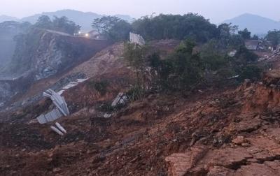 2 Rumah Warga di Kabupaten Bogor Rusak Berat Akibat Tanah Longsor