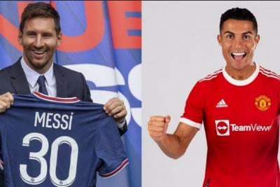 Jersey Messi atau Ronaldo, Mana Lebih Laris?