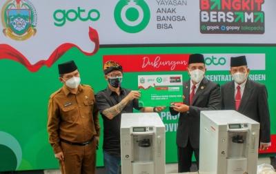 GoTo Donasikan 1.000 Konsentrator Oksigen di Indonesia