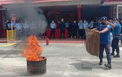 Antisipasi Kebakaran, Lapas dan Damkar Lakukan Sosialisasi