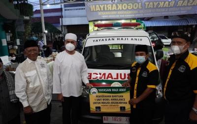 Ambulans Diserahkan ke Masjid Jogokariyan Yogyakarta, Musa Rajekshah: Wasiat Almarhum Orang Tua Saya