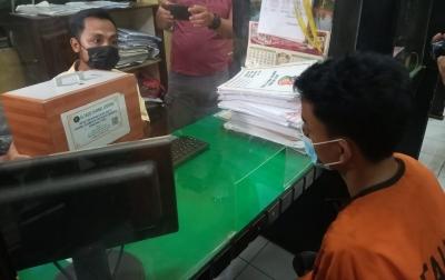 Polisi Tangkap Dua Pencuri Kotak Infaq Masjid