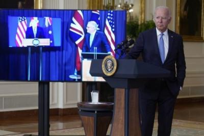 Joe Biden Lupa Nama PM Australia