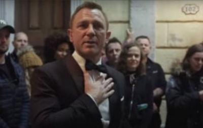 Pidato Perpisahan 'James Bond' Bocor di Sosial Media