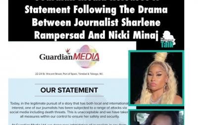 Jurnalis yang Dituduh Minaj Melecehkan Keluarganya, Mendapat Ancaman Pembunuhan