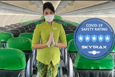 Citilink Raih Predikat 5 Star Covid-19 Airline Safety Rating