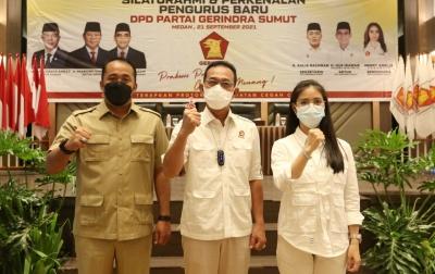 Gus Irawan Bacakan Nama Kepengurusan DPD Gerindra, Aulia Rachman Sekretaris