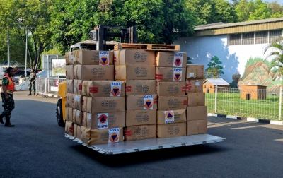 Perkuat Disiplin Prokes PON Papua, BNPB Kirim Bantuan 3 Juta Masker