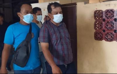 Palak Pedagang, Oknum Ketua Ormas di Medan Perjuangan Ditangkap