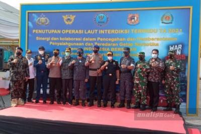 BNN Tutup Operasi Interdiksi Terpadu di Belawan