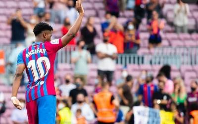 Ansu Fati Merasa Enjoy Jadi 'Pewaris' Messi
