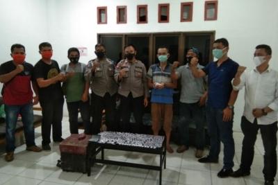 Polsek Padang Bolak Sita Ratusan Paket Sabu Siap Edar