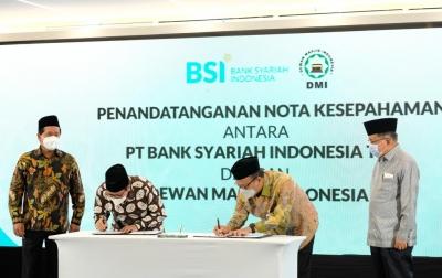 BSI dan DMI Kerja Sama Optimalkan Peran Masjid di Tengah Masyarakat