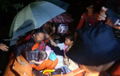 Banjir, BPBD Padang Evakuasi Ratusan Warga