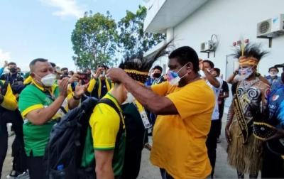Dua Atlet Wushu Sumatera Utara Berjuang Meraih Emas