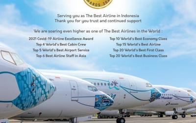 Garuda Indonesia Peroleh Pengakuan Internasional