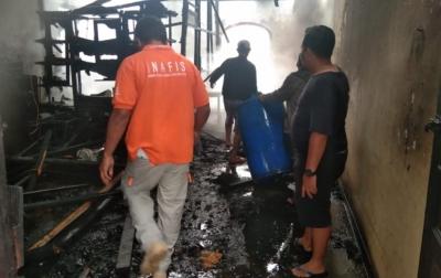 Lima Rumah Ludes Terbakar di Kabanjahe