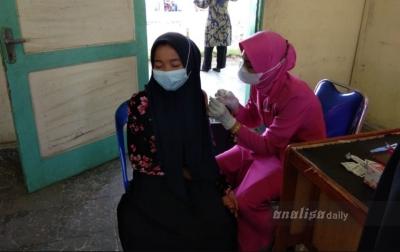 Polres Asahan Vaksin 1.370 Orang