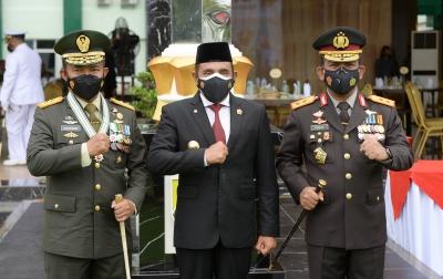 HUT TNI, Edy Berharap Sinergisitas Semakin Kuat Hingga ke Daerah