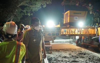 Warga Bahagia, Jalan Pancing 1 Akhirnya Dibeton Bobby Nasution