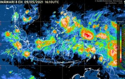 Waspadai Cuaca Ekstrim 10 Hari Kedepan