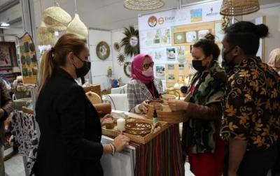 Kerajinan Tangan Indonesia Dipamerkan di CraftIstanbul