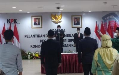 Ikut TWK Susulan, 2 Pegawai KPK Dilantik Jadi ASN
