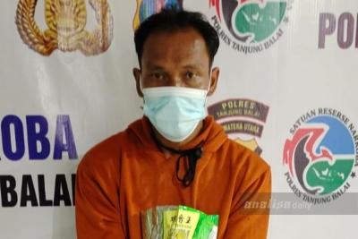 Polres Tanjungbalai Tangkap Nelayan Pemilik 1 Kg Sabu