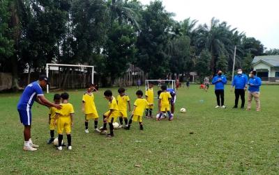 KNPI Medan Dukung Turnamen Sepak Bola Usia Dini