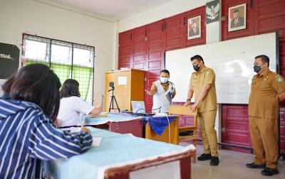 SMP di Medan Sudah PTM, Satu Kelas Maksimal 10 Orang