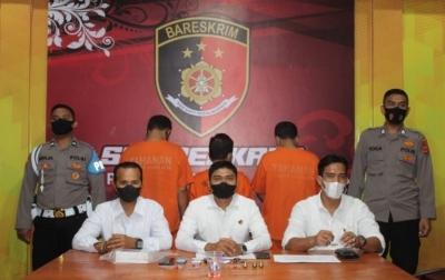Komplotan Penipu Lintas Provinsi Ditangkap Polisi di Banda Aceh