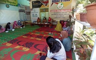 YAFSI dan Perpusip Sumut Sosialisasi Budaya Literasi di Kelurahan Amplas