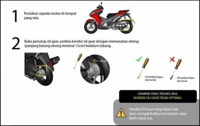 Mengenal Pentingnya Oli Gear Pada Motor Skutik Yamaha 125cc