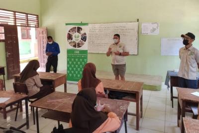 PT GM dan SSL Sosialisasikan Prokes ke Sekolah