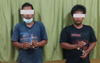 Isap Sabu, Sopir dan Pendodos Sawit Diciduk Polisi