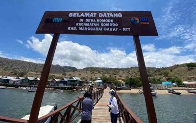 BRI Peduli Dorong Pariwisata Pulau Komodo Melalui Bantuan Infrastruktur