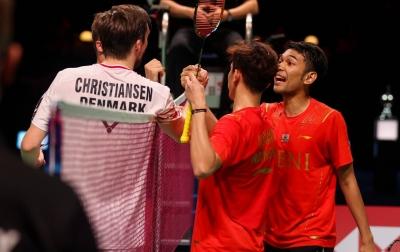Final Thomas Cup, Indonesia Unggul 2-0 Atas China