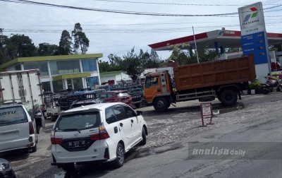 Kelangkaan BBM Masih Terjadi di Karo